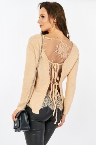 Sweter Lively  Open Back