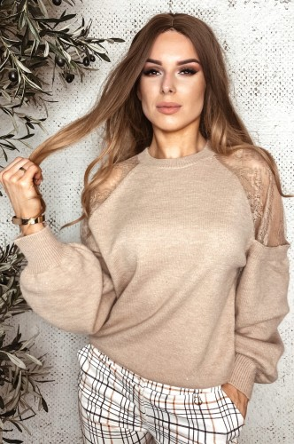 Sweter Percy Beige